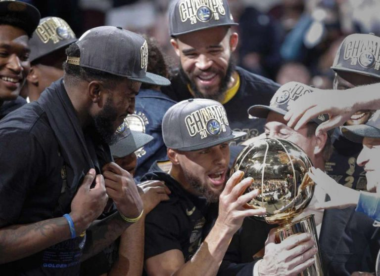 48d8665814520 Warriors Win another NBA Championship over the Cleveland Cavaliers